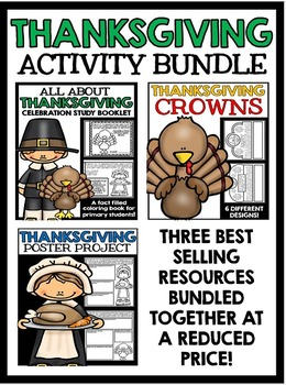 Thanksgiving - Information and Project Bundle