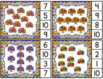 Thanksgiving Counting Activities