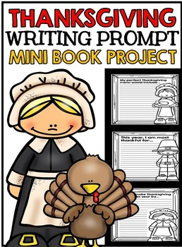 Thanksgiving Writing Mini Book Project