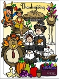 Thanksgiving Clipart (9 FREE Elements Included) Embellish