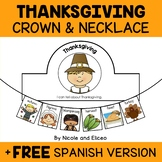 Thanksgiving Activity Crown and Necklace