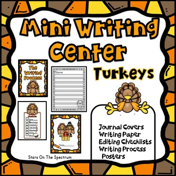 Thanksgiving Writing Center (Turkeys)