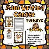 Thanksgiving Writing Center (Turkeys)