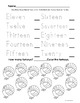 Thanksgiving Counting Turkeys Worksheets