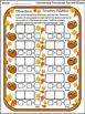 Thanksgiving Math Activities: Cornucopia Thanksgiving Dominoes Math Activity