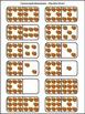 Thanksgiving Math Activities: Cornucopia Thanksgiving Dominoes Activity - Color