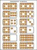 Fall Activities: Turkey Fall Dominoes Math Activity Packet
