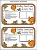 Fall Activities: Turkey Fall Dominoes Thanksgiving Math Activity -Color Version