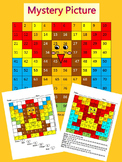 Thanksgiving Activities Thanksgiving Mat Mystery Picture Math Activity
