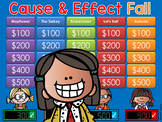Cause and Effect - Thanksgiving - Jeopardy Style Game Show