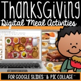 Thanksgiving Activities for the iPad: Create a Digital Mea