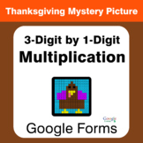 Thanksgiving: 3-Digit by 1-Digit Multiplication - Mystery