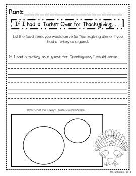 Thanksgiving Printables: 3 Product Bundle