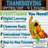 Thanksgiving Writing BUNDLE! - Argumentative, Persuasive,
