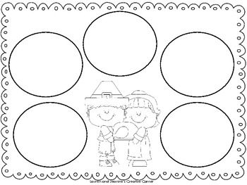 Thanksgiving 5 Senses Writing Freebie