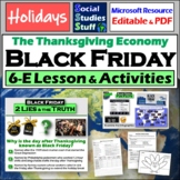 Thanksgiving-themed 5-E Lesson - Black Friday and Economic
