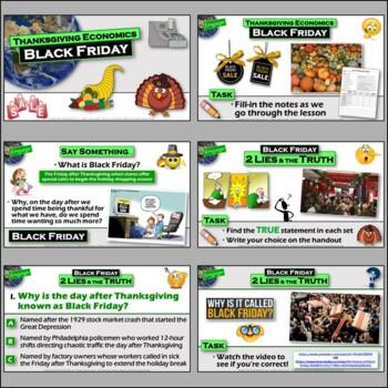 Thanksgiving-themed 5-E Lesson - Black Friday and Economic Indicator Turkeys