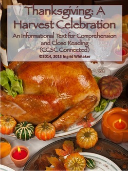 Thanksgiving Activities : Thanksgiving Informational Text