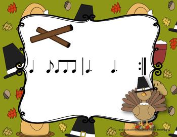 Thanksgiving - A Folk Song w/ Orff Instrument Accompaniment