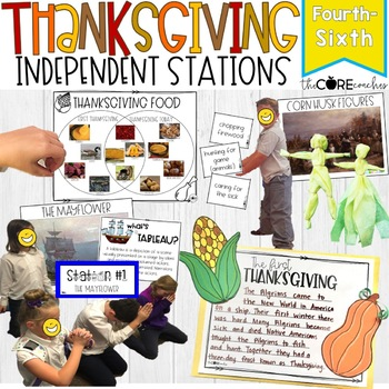 Thanksgiving: Interactive, Self-Guided Learning Stations