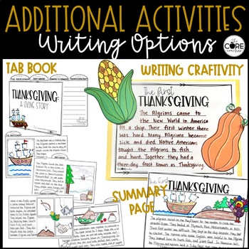 Thanksgiving: Interactive, Self-Directed Learning Stations