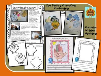 Thanksgiving- A Plump and Perky Turkey- Fun Comprehension Guide!