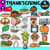 Thanksgiving A to Z Clip Art Set {Educlips Clipart}