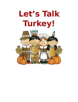 Thanksgiving ABC Activities