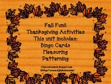 Thanksgiving Activity with Turkeys & Pilgrims