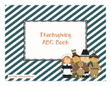 Thanksgiving ABC Writing Book