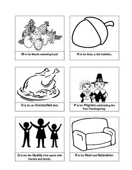 Thanksgiving ABC Book