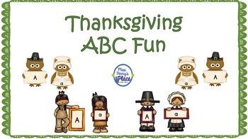 Thanksgiving ABC Fun
