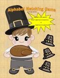 Thanksgiving ABC Matching Game