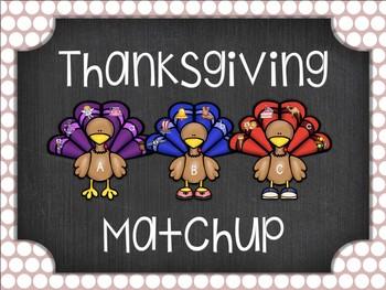 Thanksgiving ABC Matchup