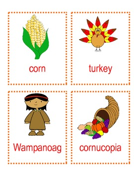 Thanksgiving ABC order - Center/Activity
