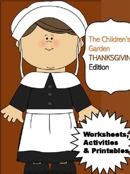 Thanksgiving ABC's Order (1st Grade)