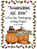 Thanksgiving ABCs Writing Unit