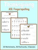 Thanksgiving (ASL Fingerspelling)
