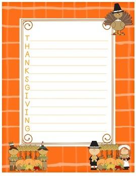 Thanksgiving Acrostic