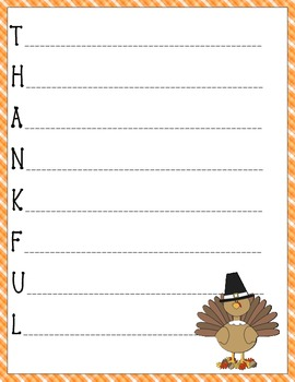 thanksgiving thankful acrostic poem by teacher by the bay tpt