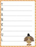 Thanksgiving Thankful Acrostic Poem