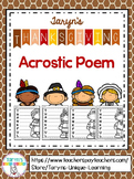 Thanksgiving Acrostic Poem