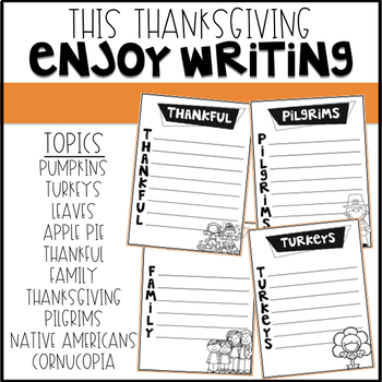 Thanksgiving Acrostic Poems {Print and Go}