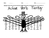 Thanksgiving: Action Verb Turkey