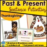 Thanksgiving Language Picture Sentence Activities for Special Education