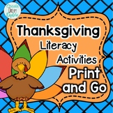 Print and Go Thanksgiving pages