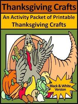Thanksgiving Decorations & Decor: Thanksgiving Crafts Acti