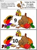 Thanksgiving Math Activities: Turkey Ten Pins Thanksgiving Game Activity