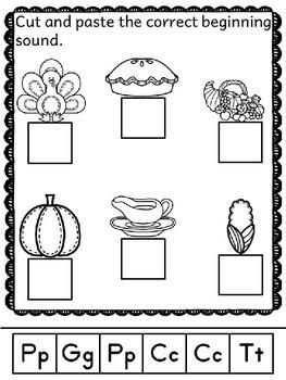 Thanksgiving Activities Worksheets