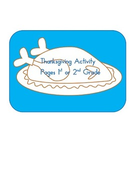 Thanksgiving Activities word search, adding, word scramble 1st and 2nd grade